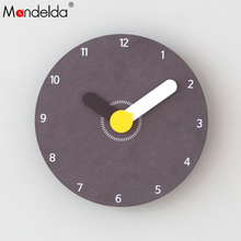Mandelda Modern Attractive Designs Decorative Wall Clock Arabic Numeral Dial Reliable Accurate Luxury Commercial