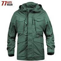 New 2018 Military Army Casual Tactical Jacket Men Winter Autumn Waterproof Windbreaker Flight Pilot Jacket Jaqueta masculina