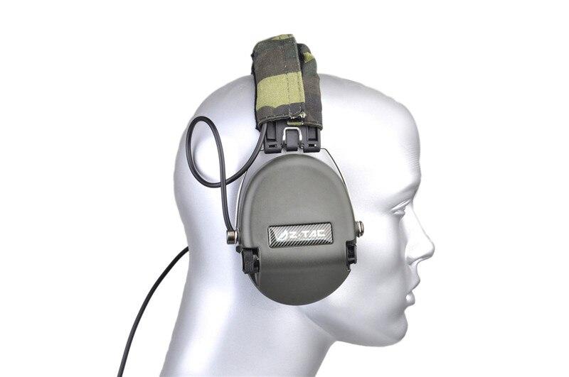 ouvido caça fone de ouvido protetor para rádio militar