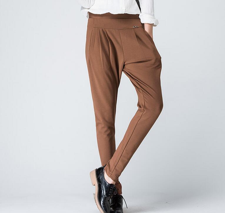Haroun La marrón Viga Mujer Caliente black Elástica Stripes gris Negro Boca 26 Nueva 33 Cintura Pantalones Nabo 2019 De Moda p6q1wA