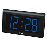Parents LED Wall Clock digital glowing numbers plastic table clock large Display Desktop clocks With EU /US plug luminous clock