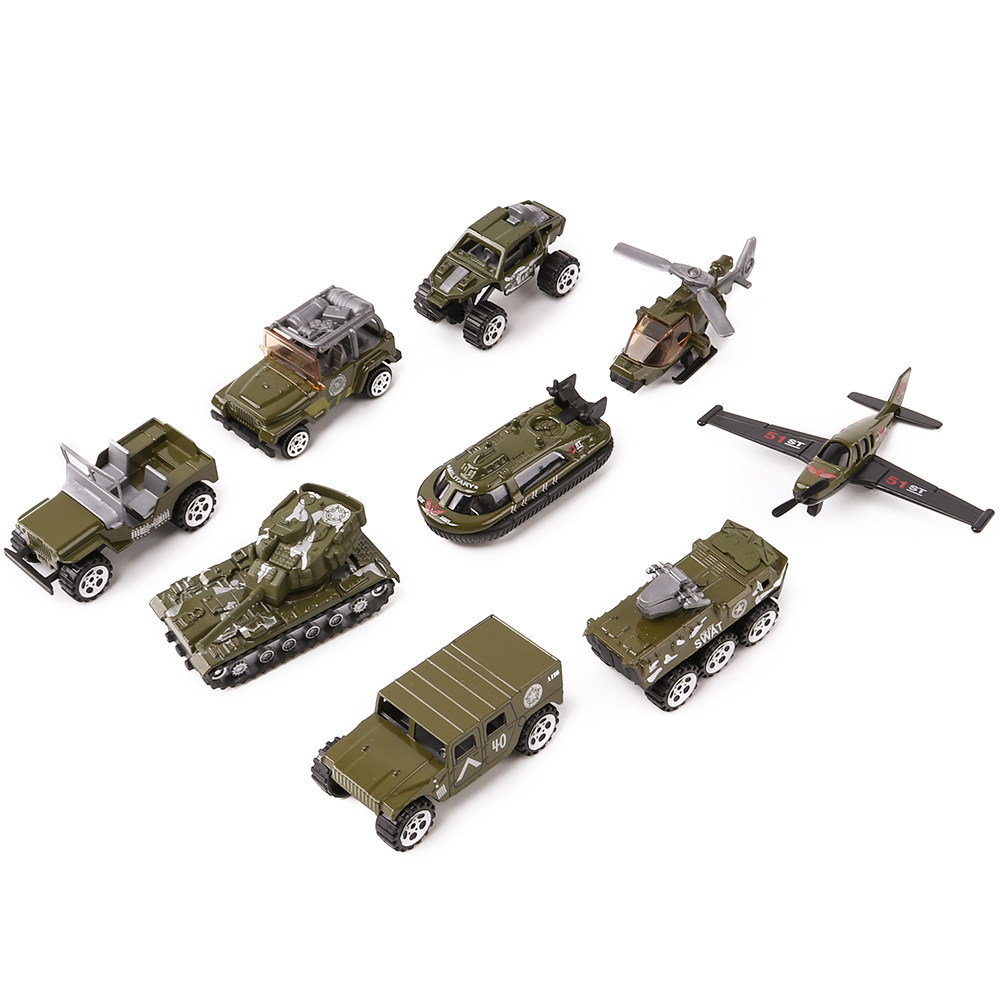 Military Series Die Cast Metal Toy Cars, Model Cars Vehicle Set Collection Gift for Boys Girls Kids Set of 3Pcs1:64 NO.XY240