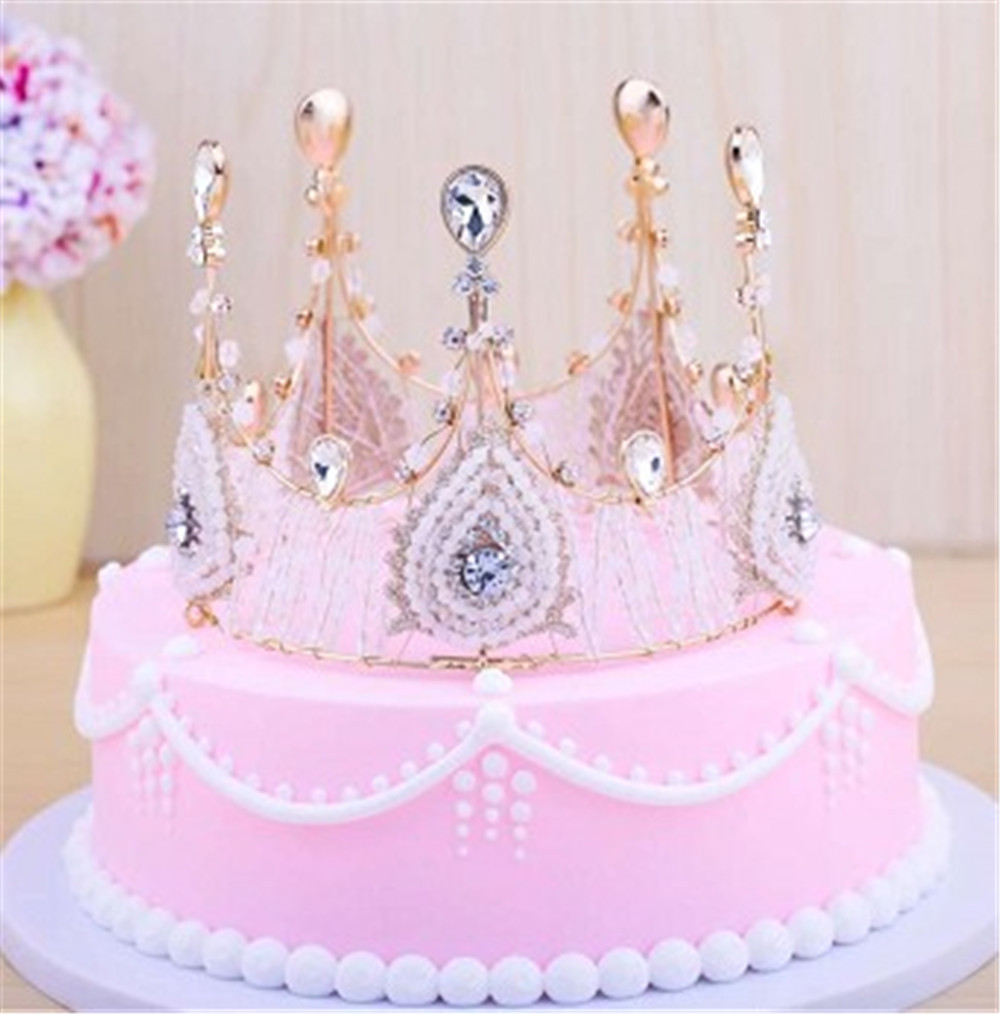 Cool Girls Women Crown Cake Topper Adult Party Birthday Cake Decorating Funny Birthday Cards Online Alyptdamsfinfo