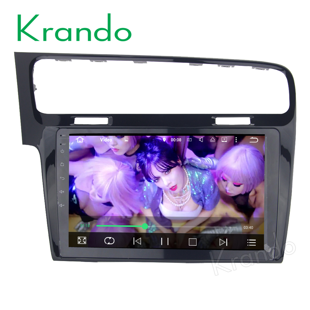 Radio audio de voiture Krando 7