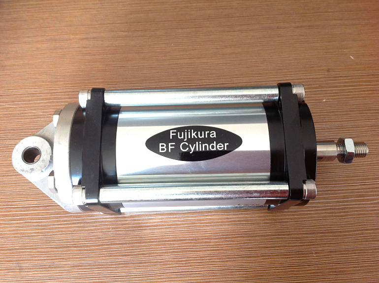 JAPAN NEW FUJIKURA BF CYLINDER FCS-63-78-S0-P ( low friction cylinder) With single Earring scs 40 48 s0 b0 japan fujikura bf cylinder low friction cylinder linear ball bearing type model 120
