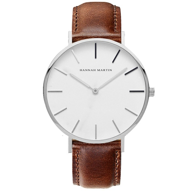 Lovers Watches Luxury Brand Couple Watch Men Women Quartz Wristwatch Leather Sim