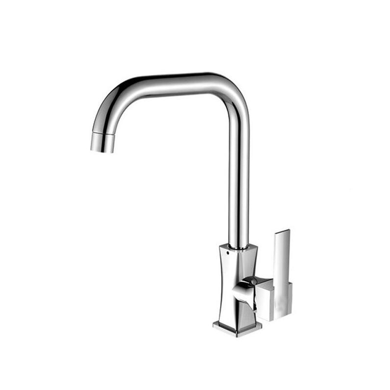 Hot Sale A1 Copper rotating single handle single hole kitchen faucet ...