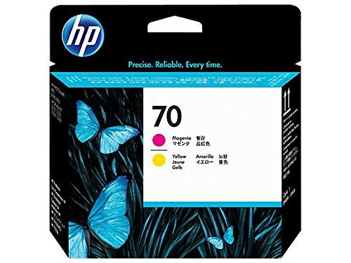 Original Printer Head for HP 70 (C9406A) Magenta/Yellow Printhead
