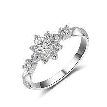 цены Casual 18K Gold Girl Star Diamond Ring Gold Zircon Engagement Party Star Fine Jewelry Diamond Big Ring for Valentine Lovers'