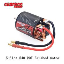 цена на SURPASS HOBBY 5-Slot 540 20T Brushed motor for HSP HPI tamiya  FS  Kyosho TRAXXAS  Yokomo WLtoys 1/10 RC Car