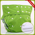 Adjustable Size Reusable PUL Waterproof Cloth Adult Diaper Incontinence Pants (1 pcs nappies+1 pcs Microfiber insert)