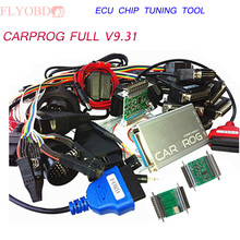 2016 Professional CARPROG FULL V9.31 CAR PROG Programmer For Repair Tools With 21 Full Adapters High Quality DHL Free