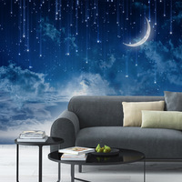 Bedroom Starry Sky DIY Wall Sticker Self Adhesive PVC Waterproof Stickers Home Decoration 116X176CM