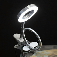 Pro Makeup Equipment Tattoo Lamp With Clamp USB Cold Light LED Lamp Eyebrow Tattoo Nail Art