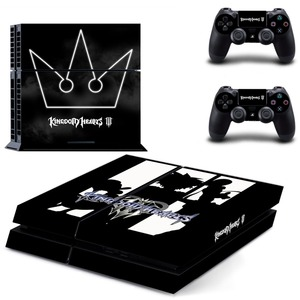 Image 3 - Game Kingdom Hearts 3 PS4 Skin Sticker Decal for Sony PlayStation 4 Console and 2 Controller Skin PS4 Sticker Vinyl