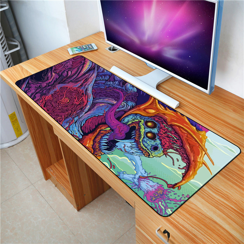Fffas 90x40cm Custom Diy Mouse Pad Keyboard Mat Xxl Desk