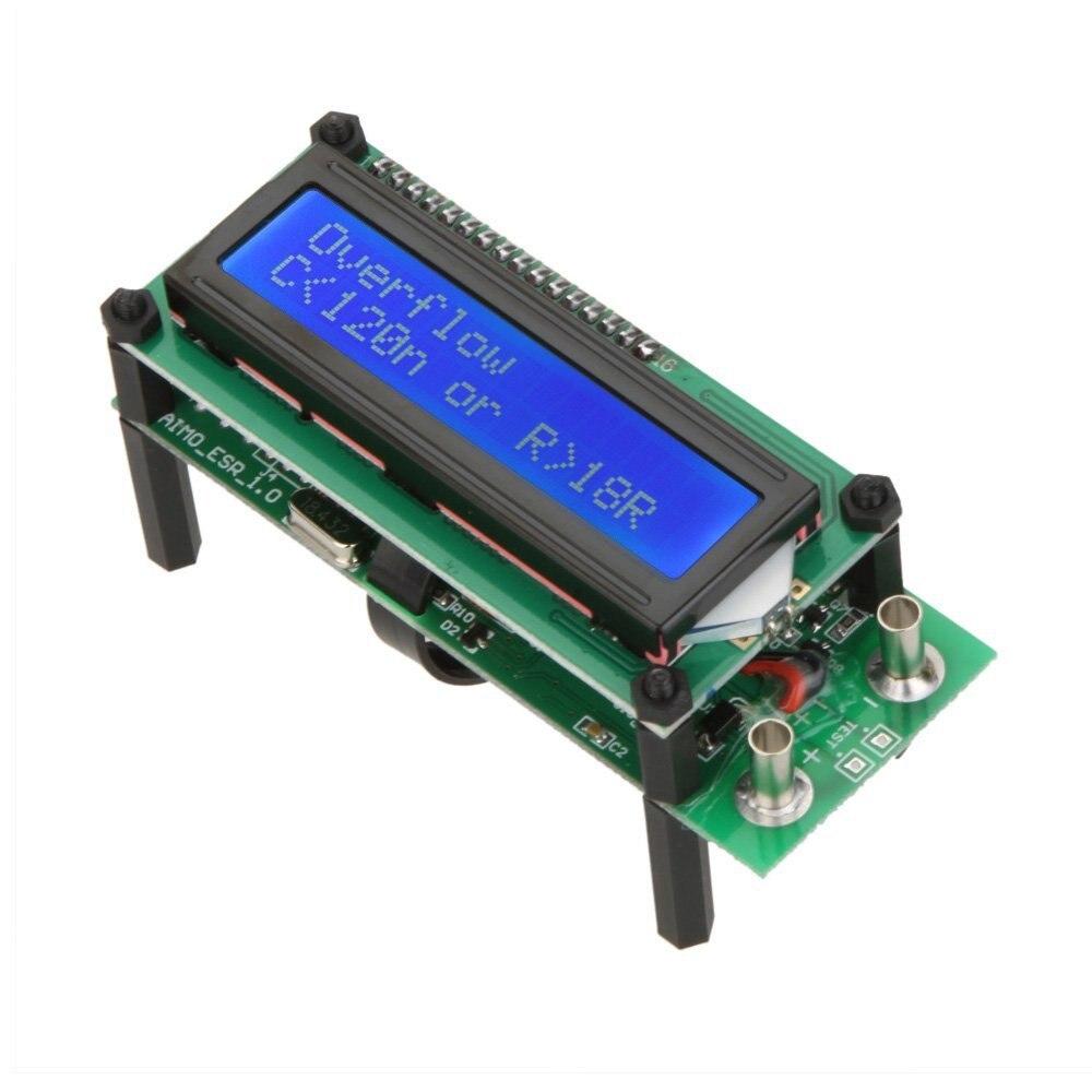 ESR01 Auto Range Digital LCR Tester Resistance Capacitance Inductance Measurement Capacitor ESR Meter USB power