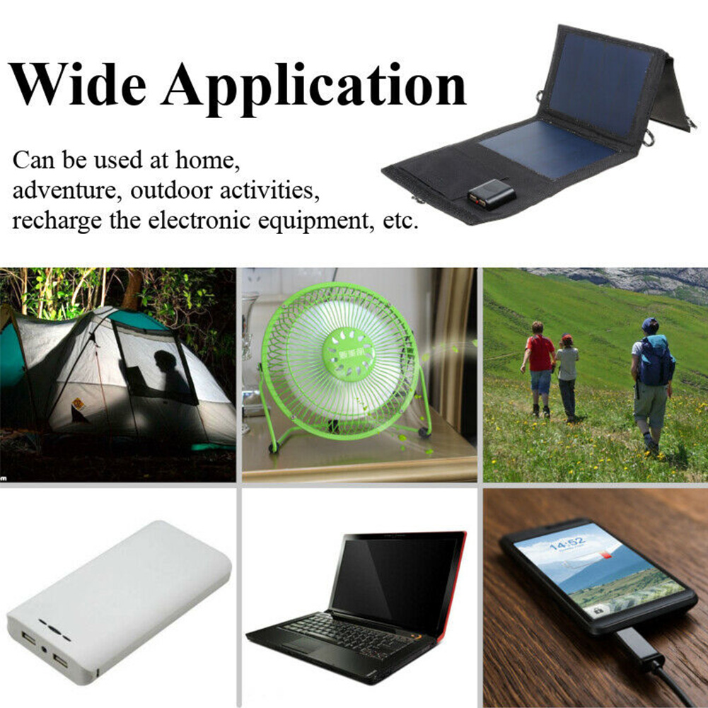 de painel de energia solar de carregamento móvel tablet