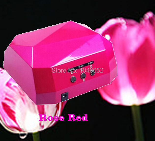 ФОТО  Free Shipping 36W LED CCFL Nail Art Lamp Nail Dryer Nail Care Machine for UV Gel Nail Polish