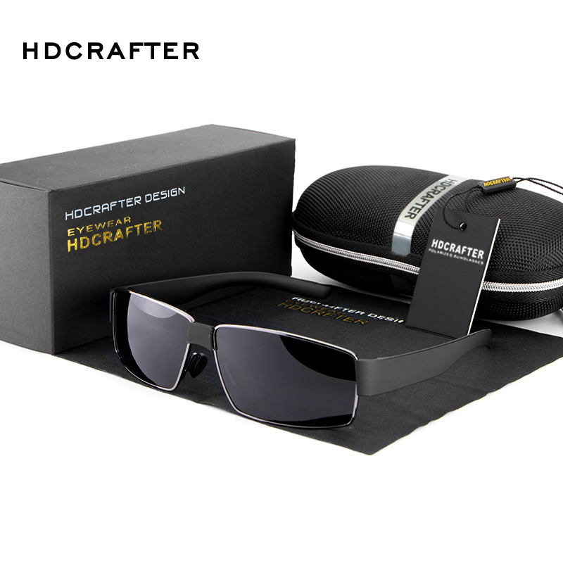 HDCRAFTER font b Fashion b font Men High Quality Sunglasses font b Polarized b font Driving