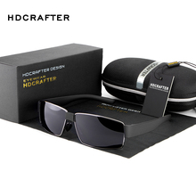 HDCRAFTER Fashion Men High Quality Sunglasses Polarized Driving Glasses UV 400 Protection Eyewear Accessories for Men