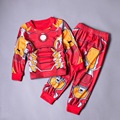 2-10 YRS Autumn Children Boys Avengers Tracksuit Spiderman Hulk Batman Captain America Iron Man Kid Outfit  Baby Clothing Set