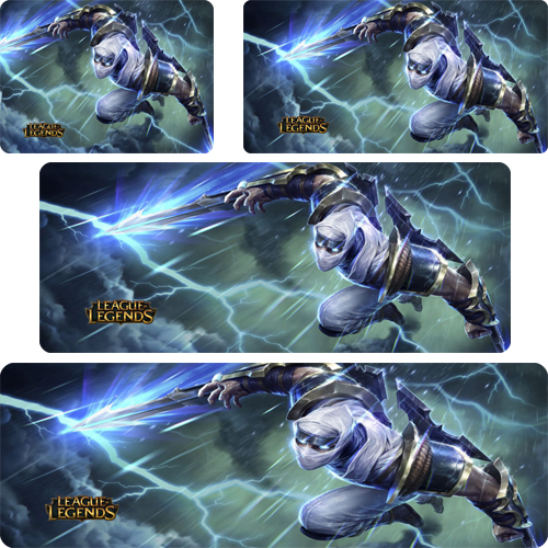 Shockblade Zed mouse pad lol mousepad laptop Legends mouse pad gear notbook computer gaming mouse pad gamer play mats