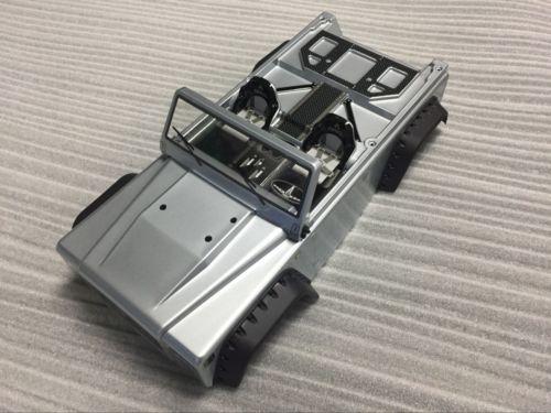 Axiale crawler SCX10 Dingo Body shell Builder GESCHILDERD TRUCK CAG voor gary AX90021-in Onderdelen & accessoires van Speelgoed & Hobbies op  Groep 1