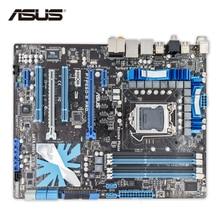 ASUS P7P55D-E Pro Оригинальный Новый рабочего Материнская плата P55 LGA 1156 i3 i5 i7 DDR3 16 г SATA3 USB3.0 ATX