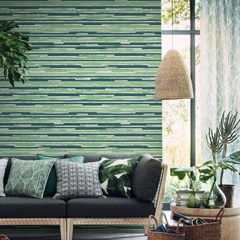 Papier peint texturé en paille de bambou de couleur unie moderne rouleaux de papier peint lavable en vinyle