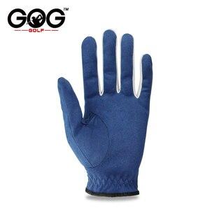 GOG 1 шт перчатки для гольфа ткань синяя Перчатка Левая Правая рука для гольфов дышащие спортивные перчатки для рекламы перчатки для водителя совершенно новые