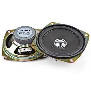 Image 3 - AIYIMA 2 adet 3.5 inç taşınabilir hoparlörler 4Ohm 8W tam aralık müzik ses hoparlörü sütun hoparlör DIY ev sineması için