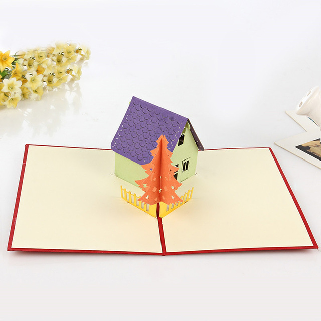 3d pop up the twilight house greeting cards handmade happy birthday 3d pop up the twilight house greeting cards handmade happy birthday laser cut merry christmas postcards m4hsunfo
