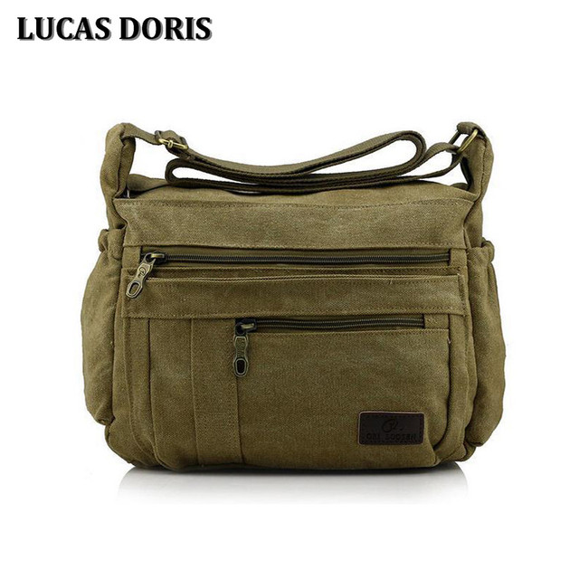 a051869501 Canvas Men s Crossbody Bag over Shoulder Messenger Bags Casual Bags for Men  Male Handbag Travel Bag