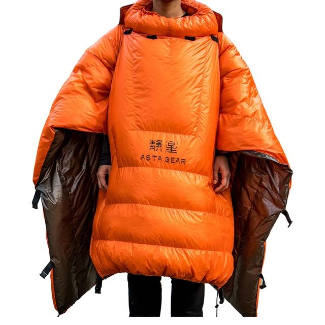 ASTAGEAR Quilt 20D Sleeping Bag  95% White Duck Down  3
