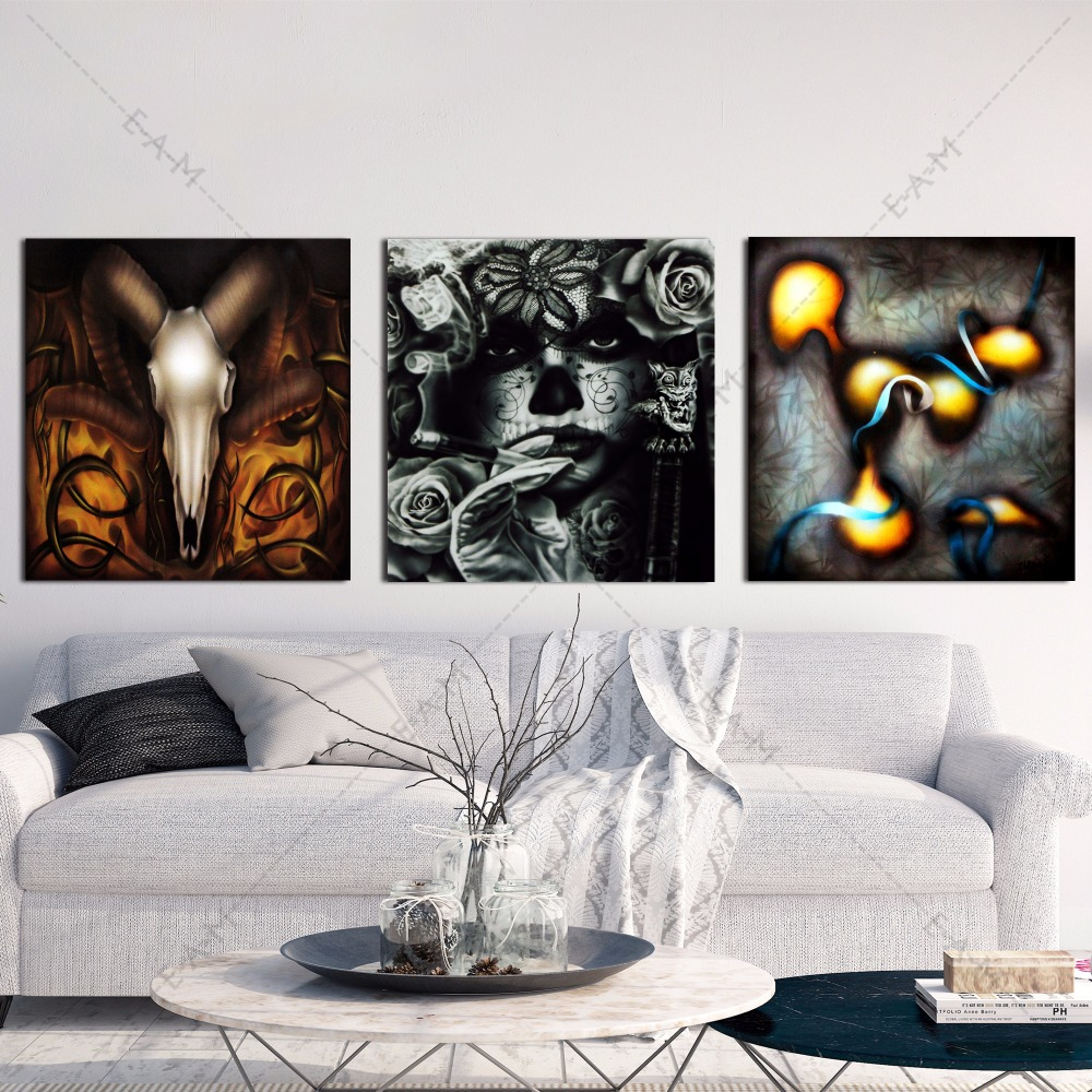 online kaufen gro handel airbrush art bilder aus china airbrush art bilder gro h ndler. Black Bedroom Furniture Sets. Home Design Ideas