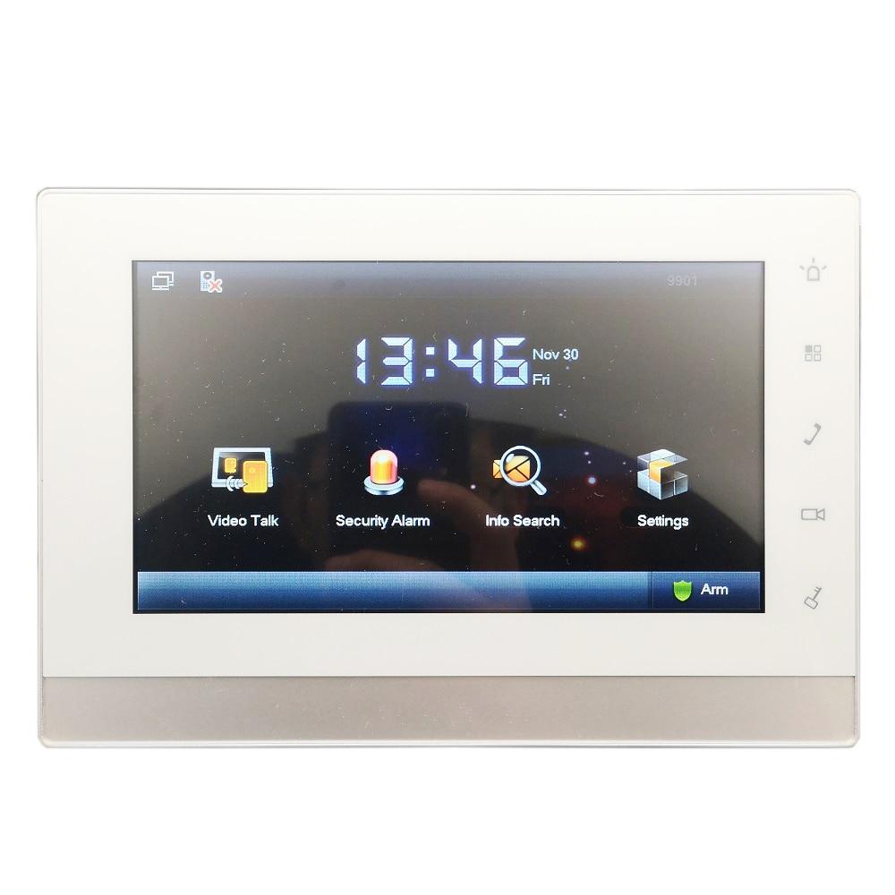 DH Logo Multi-Language 2-wire VTH5222CH Indoor Monitor,work With VTNS1006A-2,IP Doorbell, Video Intercom,wired Doorbell