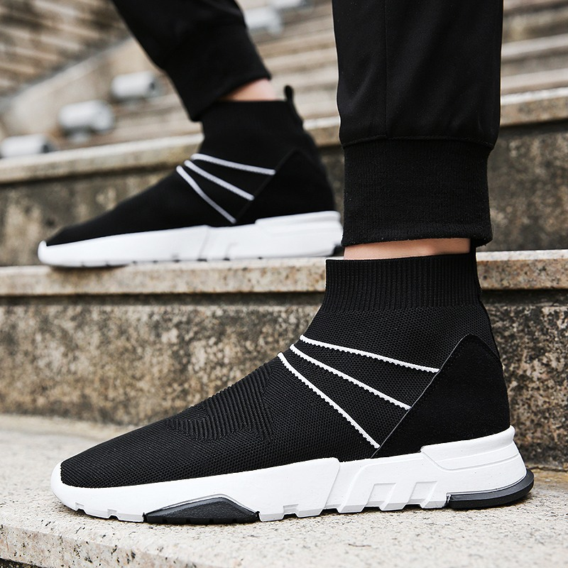 Sneakers Shoes Men Running Basketball Shoes Fitness Comprehensive Training Shoes Men Breathable Socks Shoes Men Boots Sports peak men athletic basketball shoes tech sports boots zapatillas hombres basketball breathable professional training sneakers