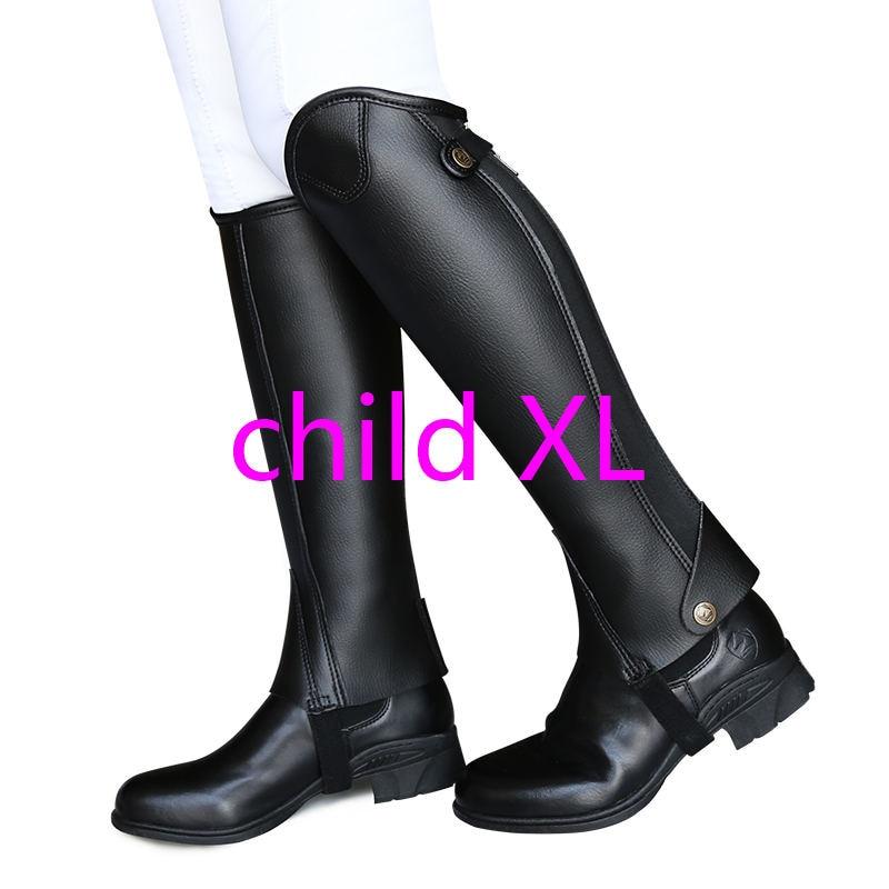 Ультра-Волоконный наездник, защита ног для верховой езды, удобные и износостойкие наездники, оборудование XXXXL для взрослых и детей - Цвет: Светло-зеленый