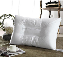 100% Cotton 5 Star Microfiber Pillow Fiber Pillow  Neck Health Care U Shaped Pillow For Home and Hotel 48*70+5.5cm