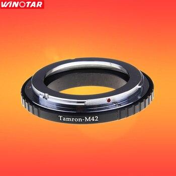 Adaptador de lente Tamron-M42 para Tamron Adaptall 2 AD2 lente a M42 montaje de tornillo cámaras