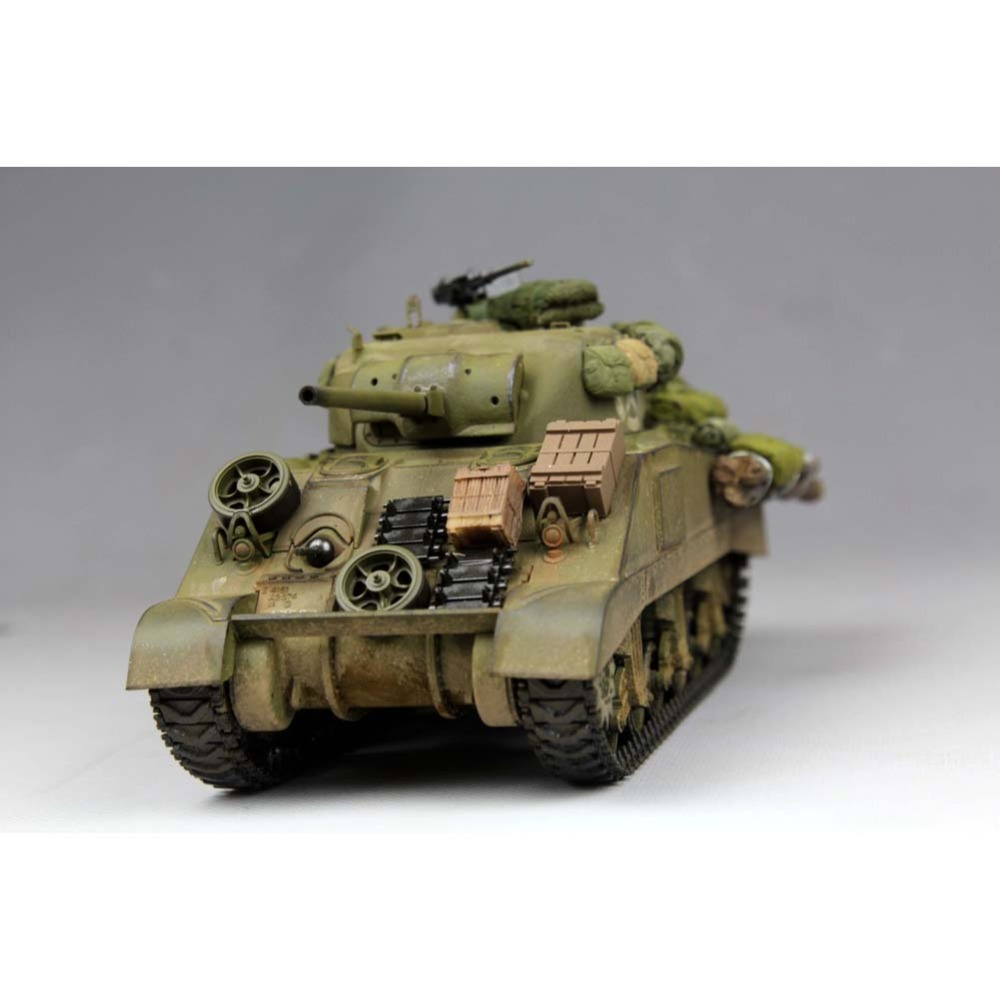 US $42 74 |OHS Tamiya 35190 1/35 US Medium Tank M4 Sherman Early Production  Assembly AFV Model Building Kits-in Model Building Kits from Toys &
