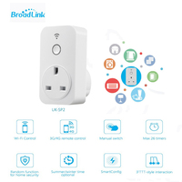 Original Broadlink Sp2 13A Timer UK Standard Mini Wifi Socket Plug Outlet Smart Remote Wireless Controls