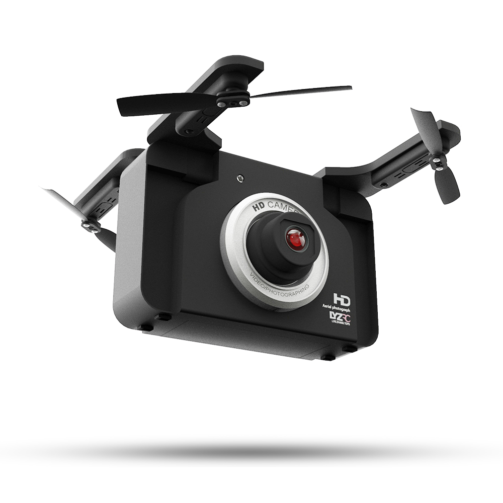 2019 Newest S102 Foldable Drone With 720P Wide Angle Camera