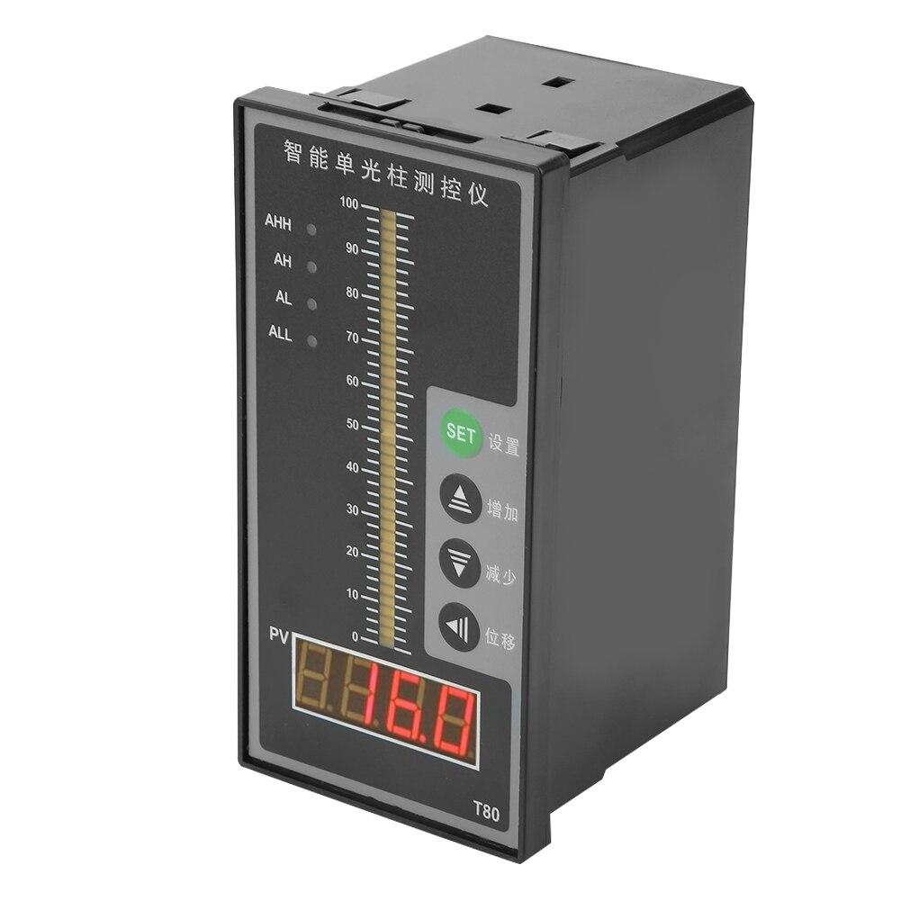 Affichage de niveau de liquide colonne de contrôle de pression intelligente transmetteur de niveau 4-20MA affichage de niveau d'eau outils de mesure