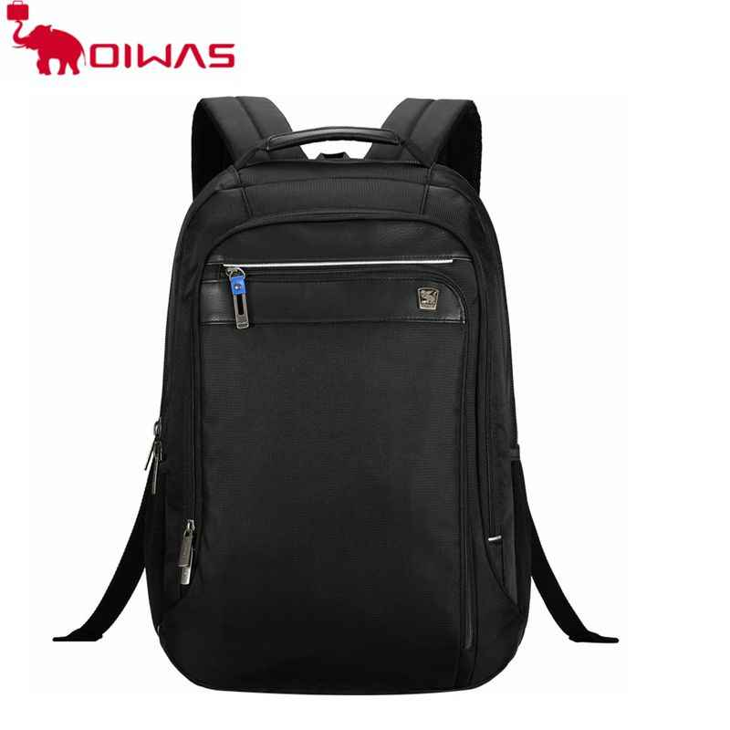 1b9e6c6e7de4 OIWAS 29L ноутбук рюкзак 15,6 дюймов Бизнес сумка Многофункциональный  Портативный Водонепроницаемый большой Ёмкость для