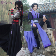 Anime Dao Mo Zu Shi Cosplay Wei Wuxian Jiang Cheng Kostüm Großmeister von Dämonische Anbau Mo Dao Zu Shi Cosplay kostüm Männer