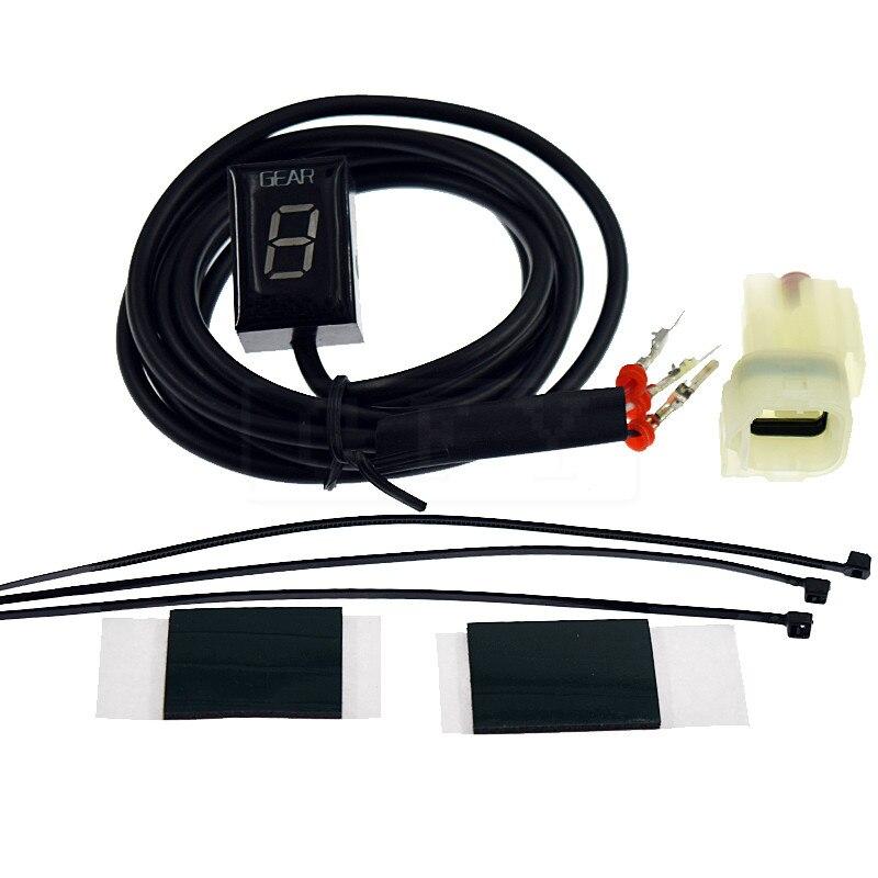 Moto LCD Électronique 1-6 Niveau Indicateur de Vitesse Numérique de Vitesse Indicateur Pour Honda CMX300 Rebel 2017 CB650F CB 650F 2014-2018