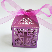 100pc Pink / Blue Cross Candy Angel Gift Box