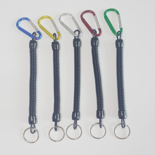 5pcs/lot Fishing Lanyards Boating Multicolor Ropes Retention Rope Secure Pliers Lip Grips Tackle Fish Tools Fishing Accessory